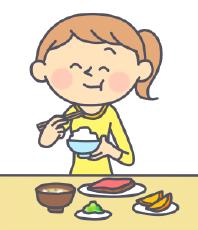 食事を見直した女性
